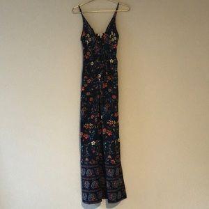 Dresses & Skirts - Blue floral maxi dress